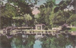 Pennsylvania South Sterling View of The Swimming Pool and Grounds at The Ster...