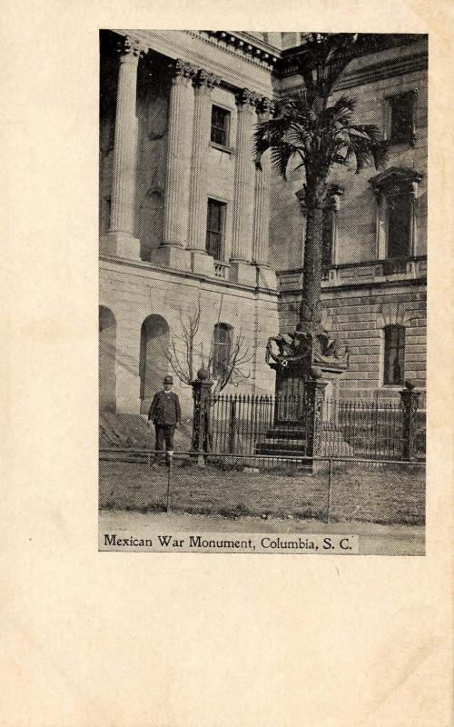 SC - Columbia. Mexican War Monument (South Carolina)