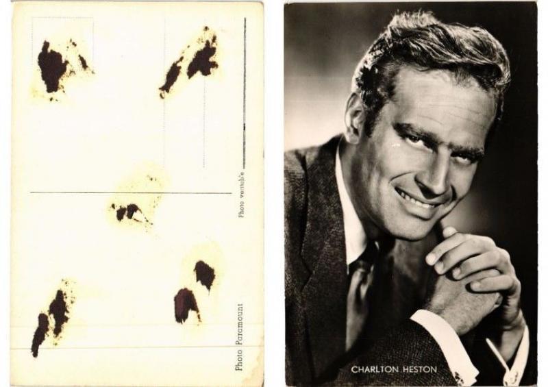 CPA Charlton Heston FILM STAR (549029)