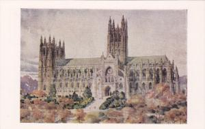 Washington Cathedral (As it will appear) , Washington D.C. , 20-40s