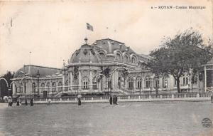 ROYAN FRANCE CASINO MUNICIPAL PHOTO POSTCARD 1907 PSTMKS