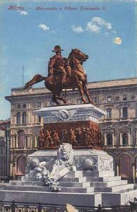 Italy Milano Monumento a Vittorio Emanuelle II