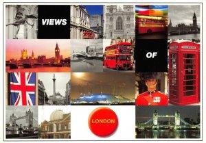 Views of London Multi View Postcard CX1