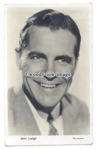 b4368 - Film Actor - John Lodge - postcard