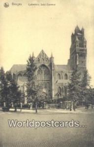 Bruges, Belgium, België, la Belgique, Belgien Cathedrale Saint Sauveur  Cath...