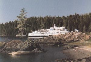 Ferry Ship : Queen of Prince Rupert , 60-80s ; B.C. , Canada