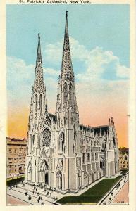 NY - New York City. St Patrick's Cathedral