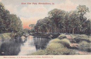 MARSHALLTOWN , Iowa , 00-10s ; River View Park