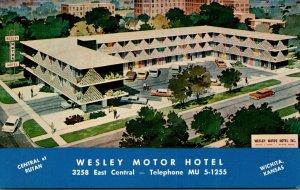 Kansas Wichita Wesley Motor Hotel