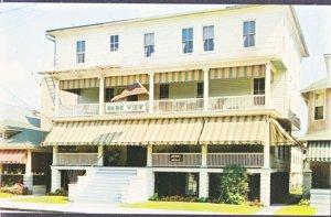 Ocean Grove NJ - PARK VIEW HOTEL now a B&B 1950s