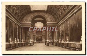 Postcard Old Versailles Chateau Gallery of Battles