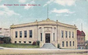 Waukegan Public Library, Waukegan, Illinois, PU-1910