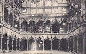 ANVERS , Belgium , PU-1916 : Vue interieure de la Bourse