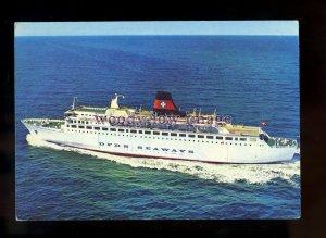FE2416 - DFDS Seaways Ferry - Dana Regina - postcard