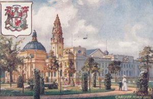 Cardiff , Wales , 00-10s ; City Hall ; TUCK 7889