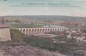France Saint Germain En Laye Panorama pris de la Terrasse