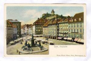 Graz, Hauptplatz, Austria , 1890s