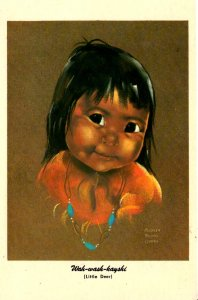 Native American - Wah-wash-kayshi (little Deer) - c1950