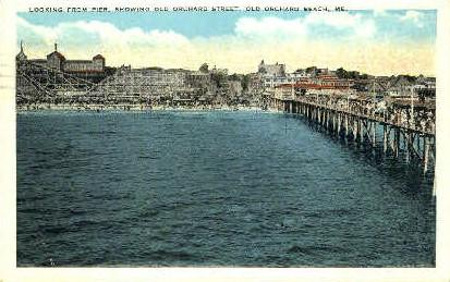 Old Orchard St. Old Orchard Beach ME 1920