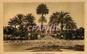 Old Postcard Sevilla Plaza de America