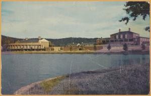 Greenville, S.C., Looking Across Lake at Furman University - 1965