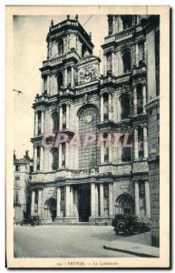 Old Postcard Rennes Cathedrale