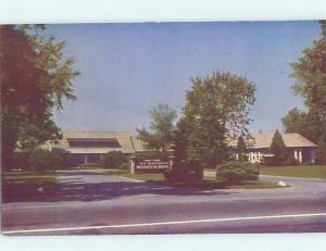 Unused Pre-1980 WASHINGTON BATHS Saratoga Springs New York NY G0419