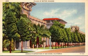 California San Diego America's Exposition Palace Of Better Housing 1942