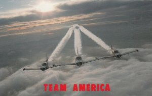 CAMERON PARK , California , 50-60s ; TEAM AMERICA Airshow performers