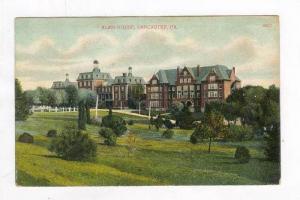 Exterior, Alms House, Lancaster, PA, PU-1911