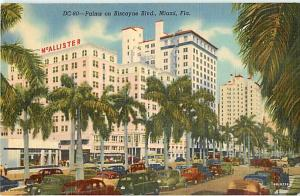 McAllister & Palms on Biscayne Blvd. Miami FL Florida Linen
