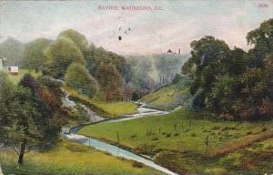 Illinois Waukegan Ravine 1916