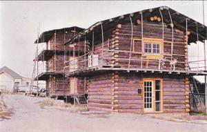 Whitehorse , Y.T. , Canada ,  50-60s Log Cabins