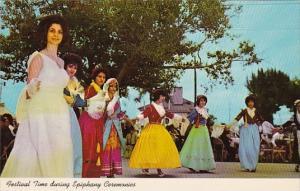Festival Time During Epiphany Ceremonies Tarpon Springs Florida