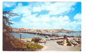 Curacoa's famous pontoon bridge connecting two parts of Willemstad; Punda and...