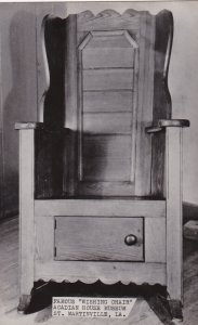 Louisiana St Martinville Famous Wishing Chair Acadian House Museu...