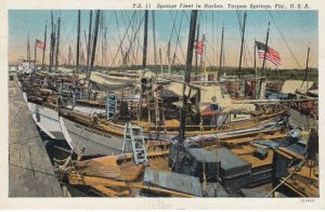 TARPON SPRINGS , Florida , 1930-40s ; Sponge Fleet