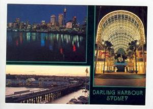 Darling Harbour 3-views , Sydney, Australia, 60-70s