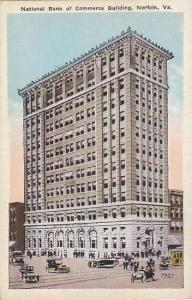 Exterior, National Bank of Commerce Building, Norfolk, Virginia,  00-10s