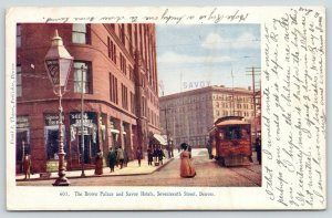 Denver Colorado~Brown Palace & Savoy Hotels~Sightseeing Office~1909