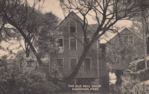 CAPE COD , Mass. , 1930s ; The Old Mill Shop , SANDWICH