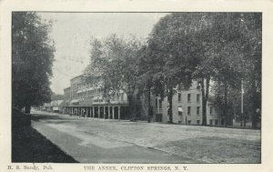CLIFTON SPRINGS ,  New York , 1907 ;The Annex , Street View