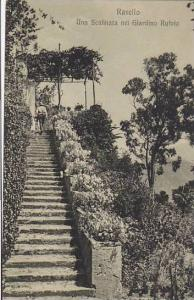 Stairs, Una Scalinata Nel Giardino Rufolo, Ravello (Salerno), Campania, Italy...