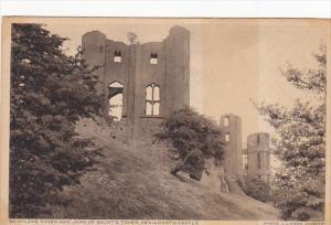 England Kenilworth Castle Saintlowe Tower and John of Gaunt's Tower