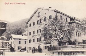 Grus aus Churwalden 1919