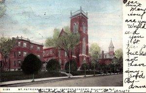 New York Binghamton St Patrick's Church St Josephs Academy 1906
