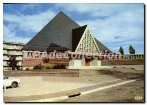 Modern Postcard Lisieux Church Hauteville