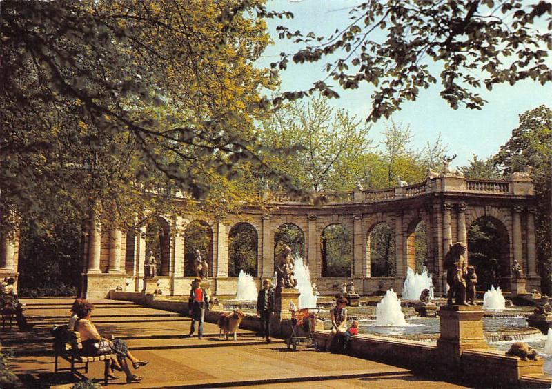 Berlin Fairy Tale Fountain in the Friedrichshainpark Maerchenbrunnen