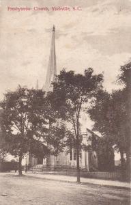 Presbyterian Church, Yorkville, South Carolina, 1908