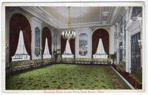 Boston, Mass, Reception Roon, Copley Plaza Hotel